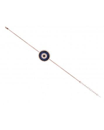 Bραχιόλι μάτι- Ασήμι 925°