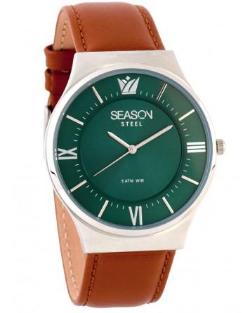 Season Time Ρολόι 6-3-5-13 Ταμπά Classic Steel Series