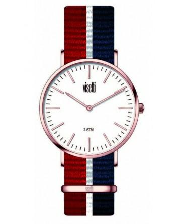 Visetti - Unisex ρολόι-PE-SW797R-BR