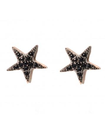 Σκουλαρίκια αστέρια - Ασήμι 925°